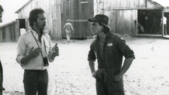 Lewis Teague i Robert Craighead na planie Cujo - obrazek