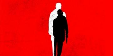 Brytyjska okładka powieści The Outsider - obrazek