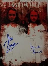 Grady Twins - autografy Lisy & Louise Burns - obrazek