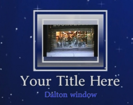 The Stand B Dalton window display (25-04-1990)