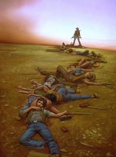 Michael Whelan - The Dark Tower I The Gunslinger 01 - obrazek