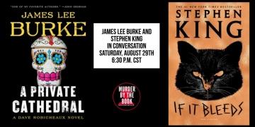 Spotkanie online ze Stephenem Kingiem i Jamesem Lee Burkiem - obrazek