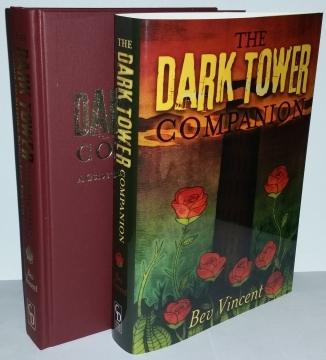 The Dark Tower Companion (Cemetery Dance) - książka i obwoluta