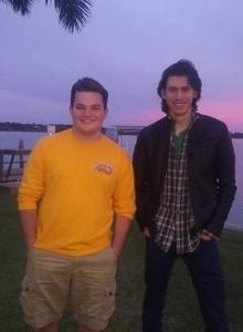 Owen Teague i Jake Sim (zdjęcie Jake Sim) - obrazek