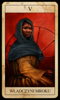 lady of shadows card - obrazek