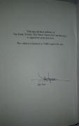 The Wind Through the Keyhole (Grant)  AE - autograf Jae Lee