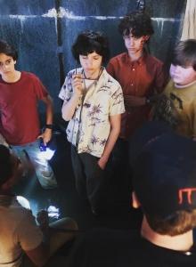 Klub Frajerów na planie filmu (zdjęcie Barbara Muschietti) - obrazek