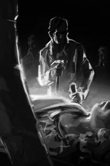 David Palumbo - The Bitter Waters - szkic (2) - obrazek