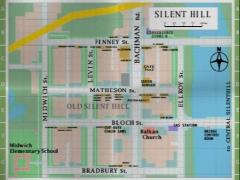 Silent Hill - mapa
