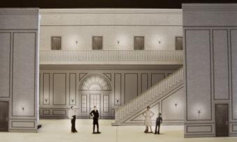 The Shining Opera - Set Render 1 - obrazek