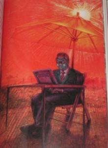 """Full Dark, No Stars"" - ilustracja Alan M. Clark ""Fair Extension"" - obrazek"