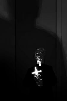 David Palumbo - The Breaking of Father Callahan - szkic - obrazek