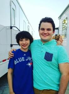 Finn Wolfhard i Jake Sim (zdjęcie Jake Sim) - obrazek
