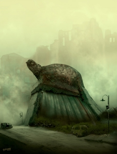 The Dark Tower - Lud City Turtle's Street - obrazek