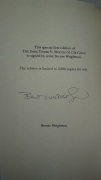 The Dark Tower V Wolves of Calla (Grant) Artist Edition - autograf Bernie Wrightson