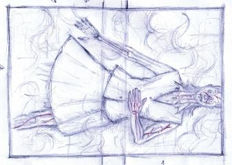 Vincent Chong - Fade Away - szkic - obrazek