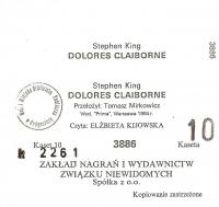 Dolores Claiborne (Polski Związek Niewidomych)