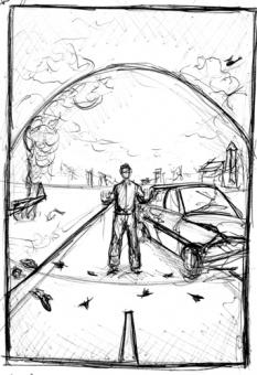 Under the Dome - sketch - obrazek