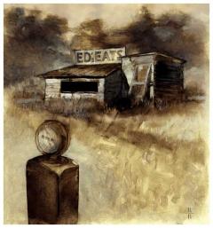 Rick Berry - Black House - Eds Eats - obrazek