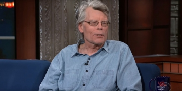 Stephen King w The Late Show - obrazek