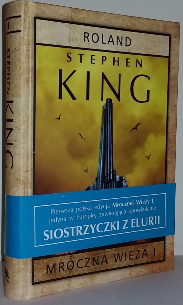 """""""Mroczna Wieża I: Roland"""" - książka z opaską - obrazek"""