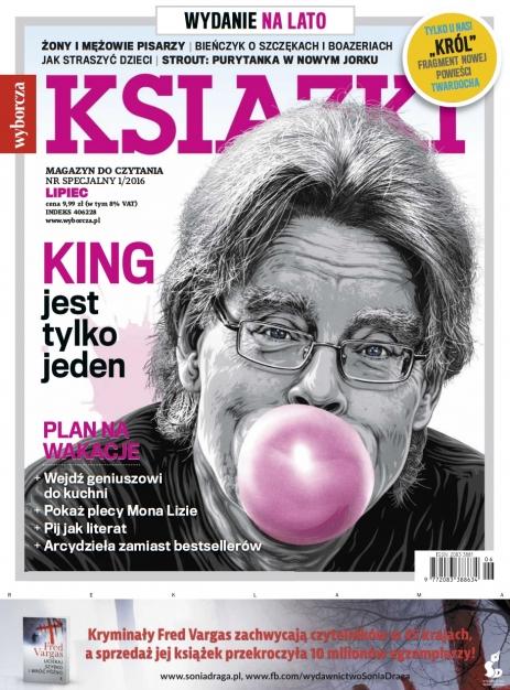 Ksiazki (numer specjalny, lato 2016) - okładka