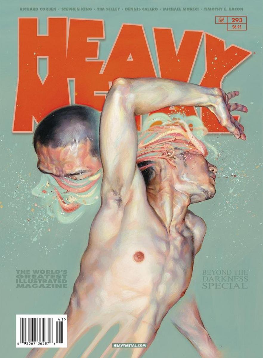 """""""Heavy Metal"""" #293 - okładka wariant C - obrazek"""
