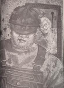 """""""Full Dark, No Stars"""" - ilustracja Jill Bauman """"Big Driver"""" - obrazek"""