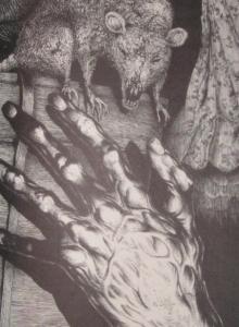 """Full Dark, No Stars"" - ilustracja Glenna Chadbourne'a ""1922"" - obrazek"