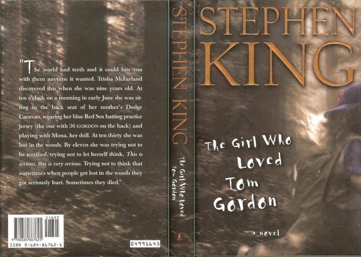 """""""The Girl Who Loved Tom Gordon"""" - obwoluta - obrazek"""