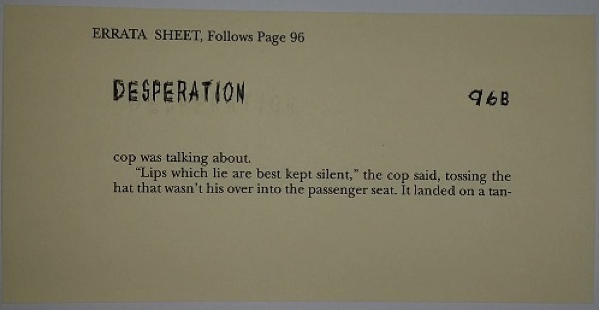 """Desperation"" - errata - obrazek"