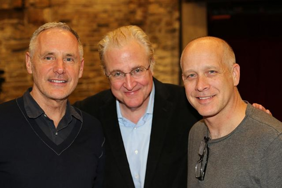 Mark Campbell, Paul Moravec i Eric Simonson (zdjęcie Theresa Murray)