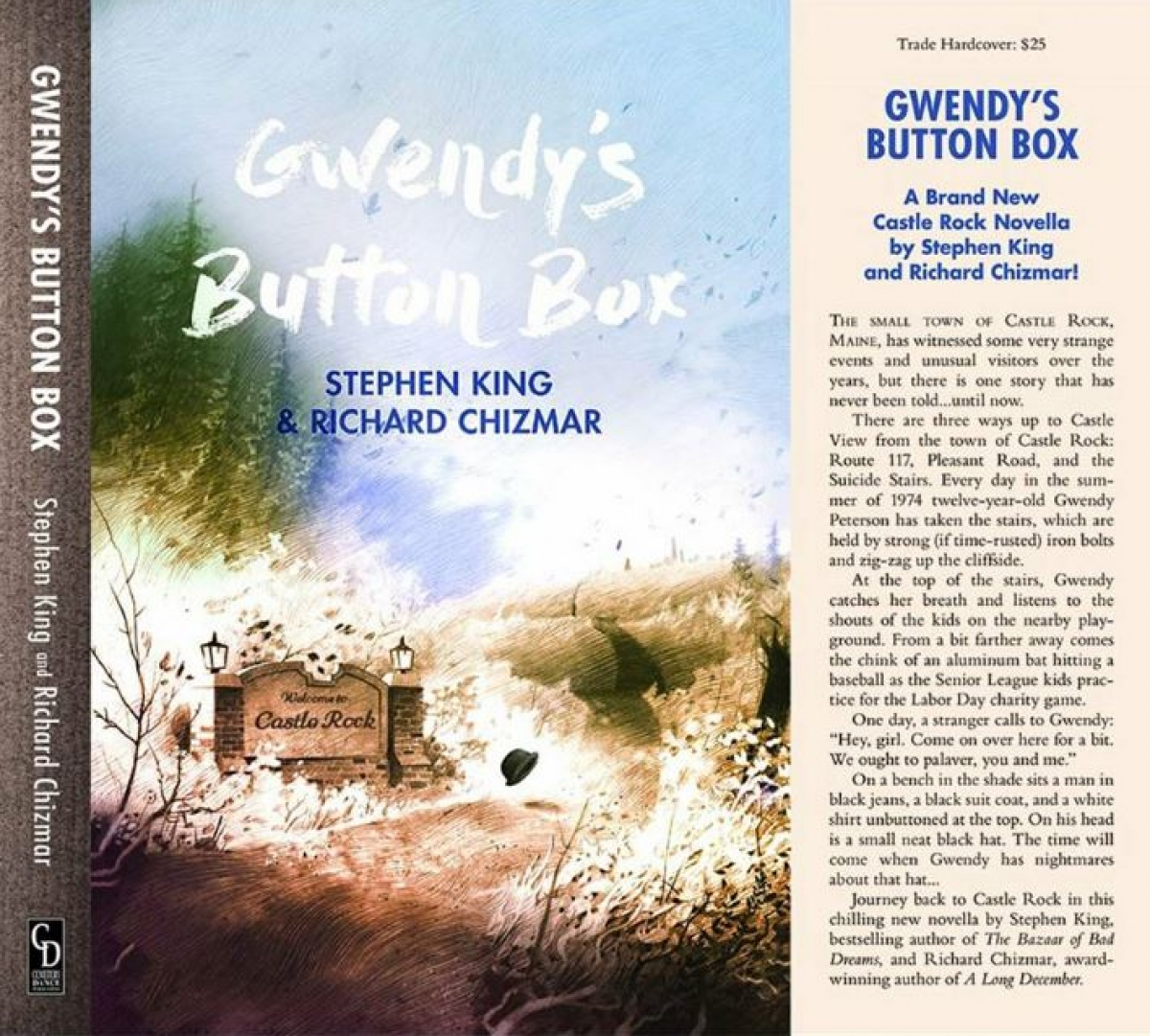 """Gwendy's Button Box"" - okładka Nocturnal Reader's Box - obrazek"