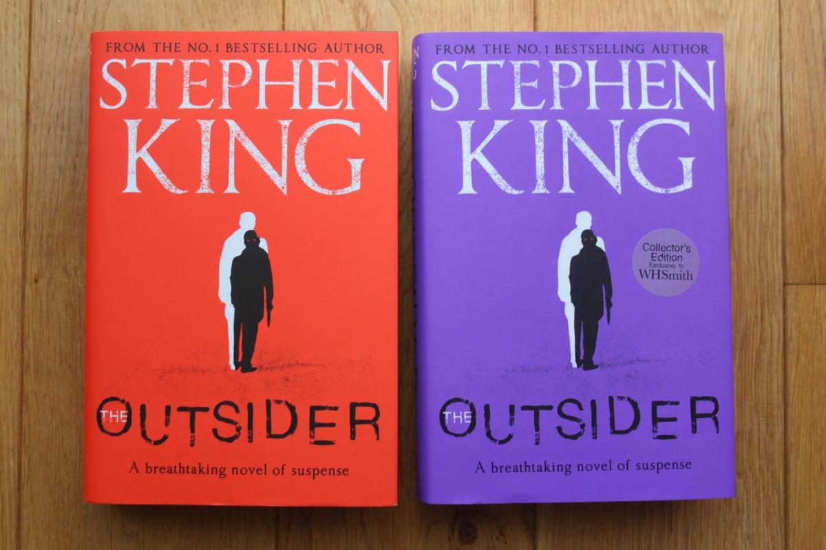 """""""The Outsider"""" - warianty okładkowe pierwszego wydania - obrazek"""