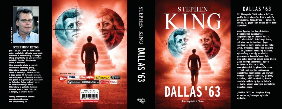"""""""Dallas '63"""" - cała okładka - obrazek"""