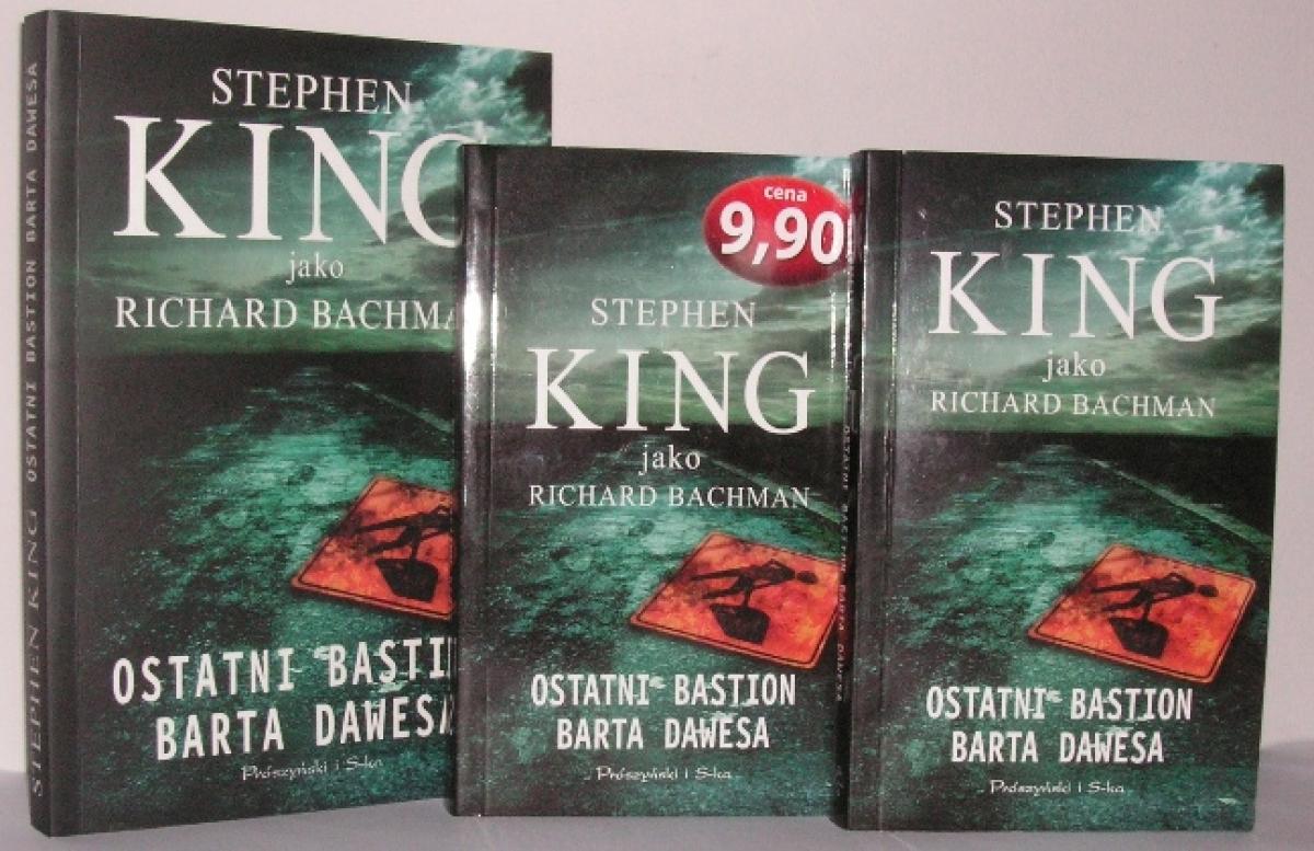 """""""Ostatni bastion Barta Dawesa"""" - książka w wydaniu standardowym i kieszonkowym - obrazek"""