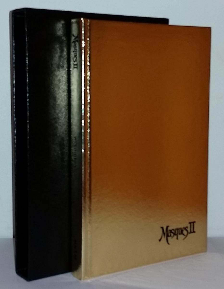 """""""Masques II"""" - książka i etui - obrazek"""