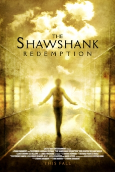 Stephen King Goes to the Movies - Vincent Chong - The Shawshank Redemption (poster) - obrazek