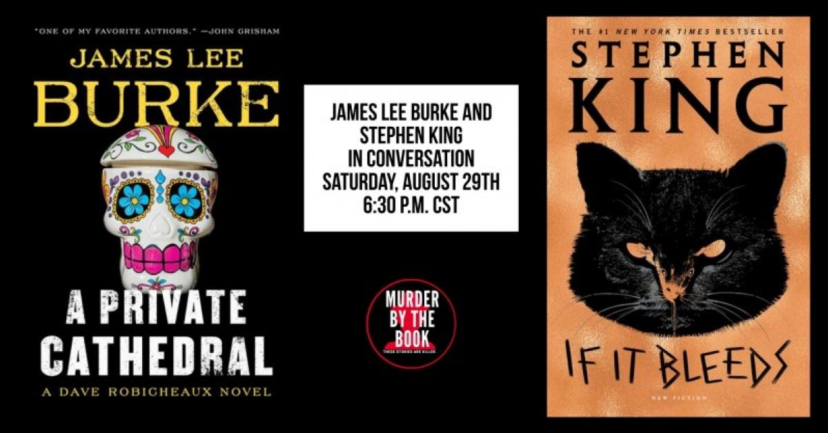 Spotkanie online: Stephen King i James Lee Burke - obrazek
