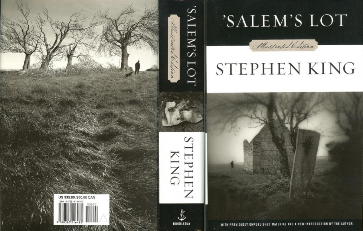 """'Salem's Lot Illustrated Edition"" - obwoluta - obrazek"