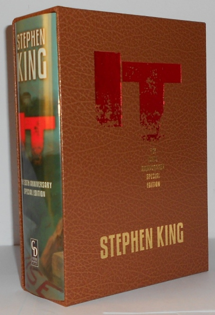IT 25th Anniversary Edition (Cemetery Dance) Gift Edition - książka w etui - obrazek
