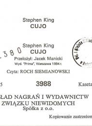 Cujo (Polski Związek Niewidomych) - obrazek