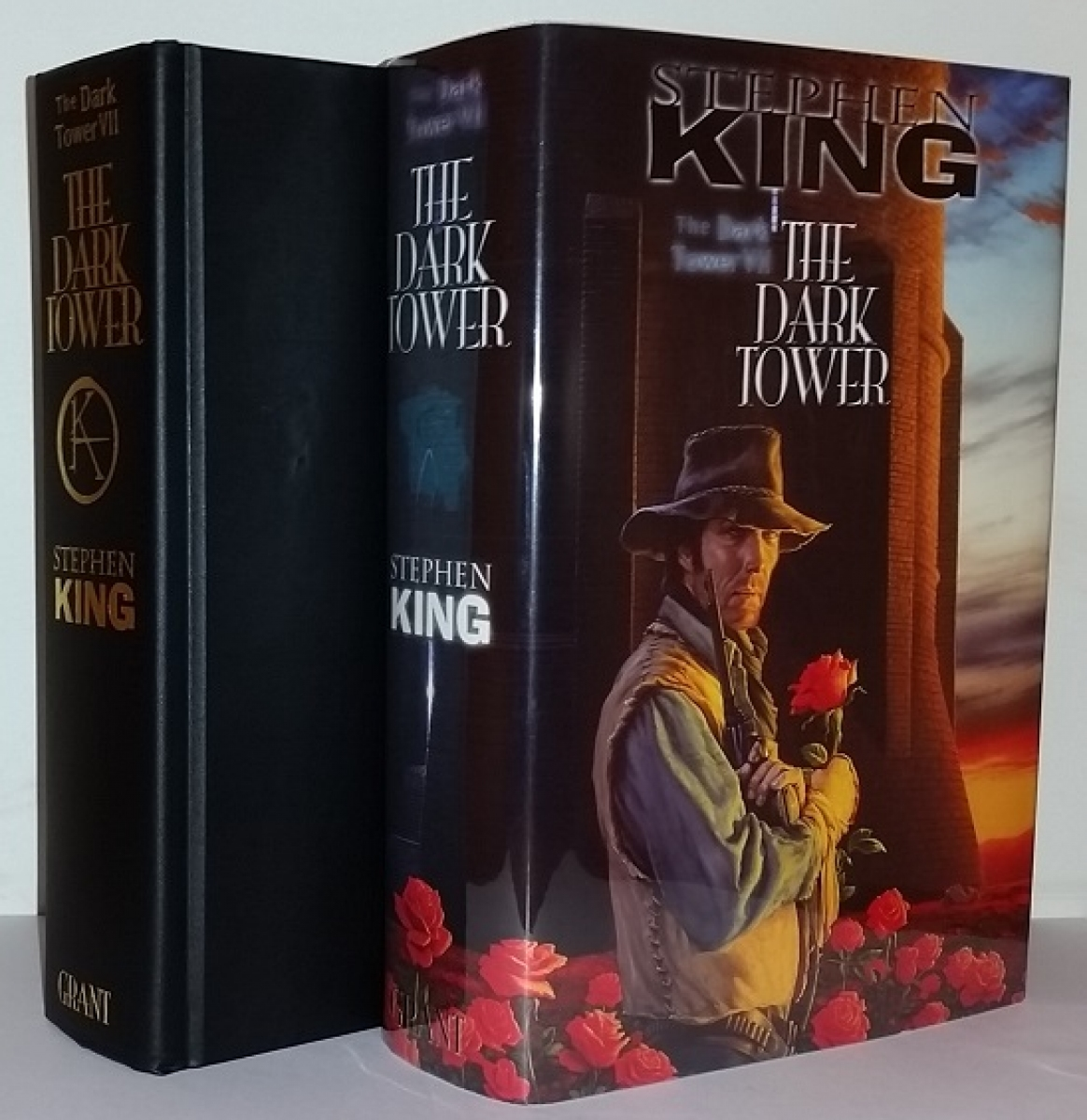 """The Dark Tower VII The Dark Tower"" - książka i obwoluta - obrazek"