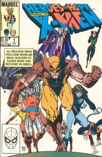 Heroes for Hope: Starring the X-Men (Marvel)