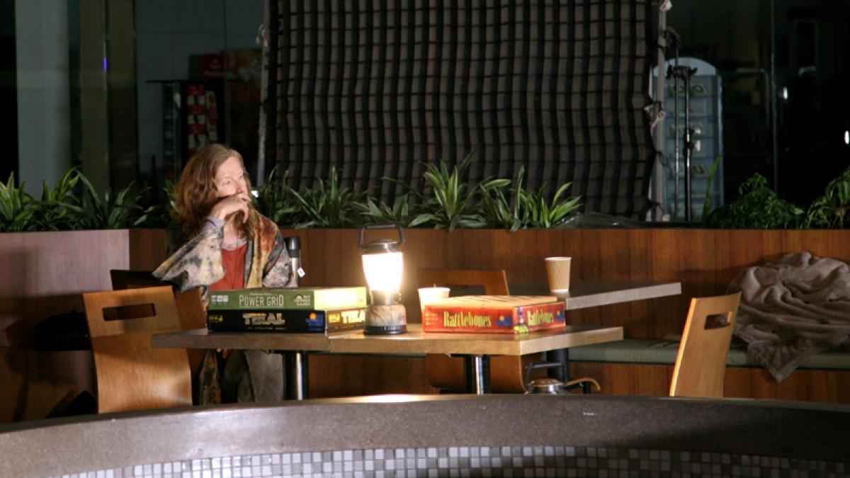 Mgła 006 na planie serialu (zdjęcie Tammy Fancy) - obrazek
