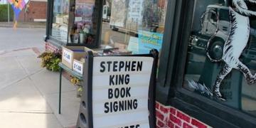 Stephen King podpisuje Finders Keepers w Bridgton - obrazek