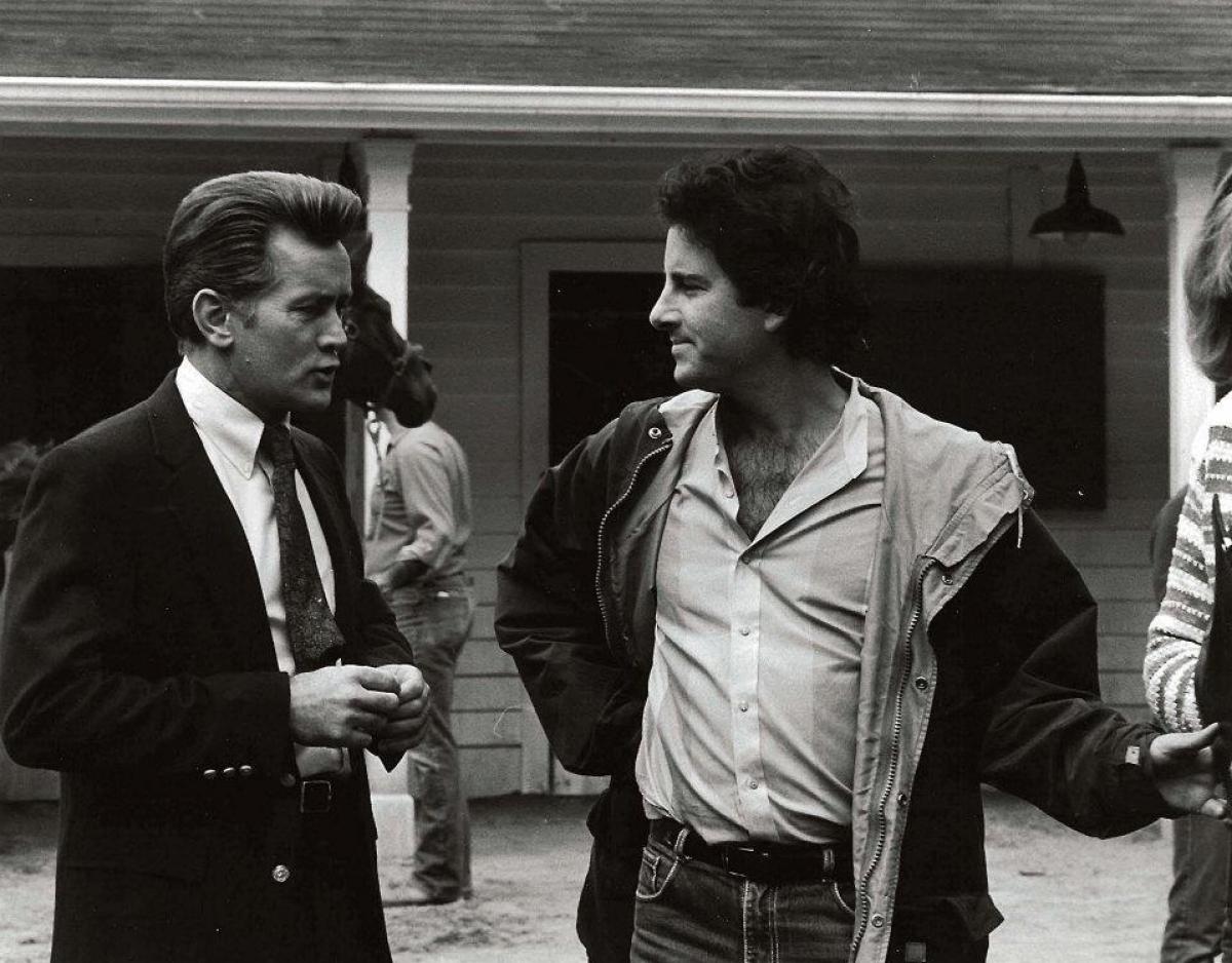 Martin Sheen oraz Mark L. Lester - obrazek