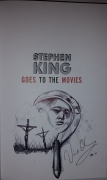 Stephen King Goes to the Movies (Subterranean Press) HLE - remarque Vincent Chong