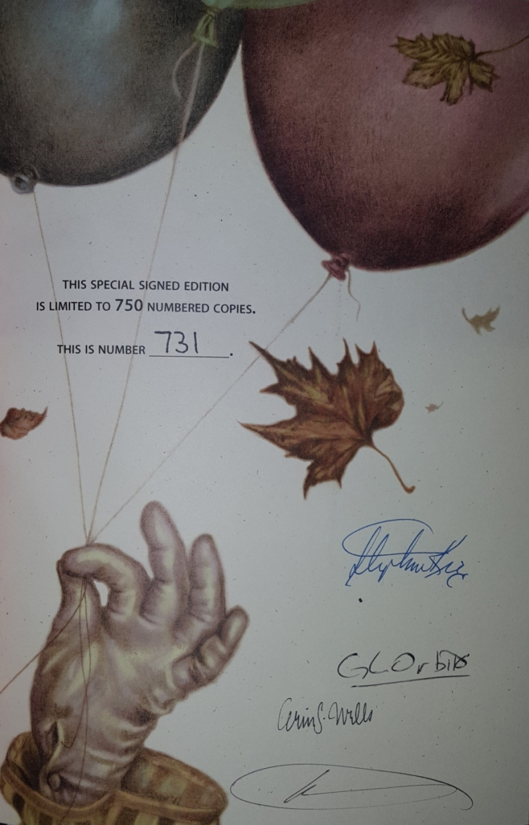 IT 25th Anniversary Edition (Cemetery Dance) Signed Edition - strona z autografami - obrazek