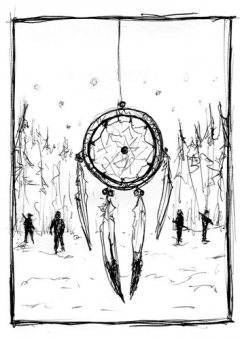 Dreamcatcher - sketch - obrazek